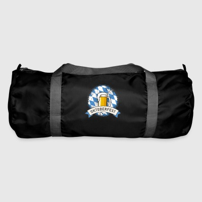 Oktoberfest Prost beer craft beer garden beer glass - Duffel Bag