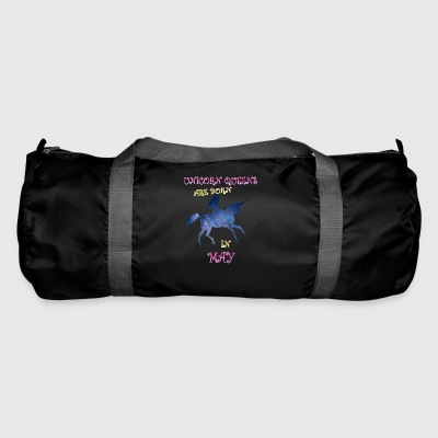 Unicorn queens are born in may - Duffel Bag