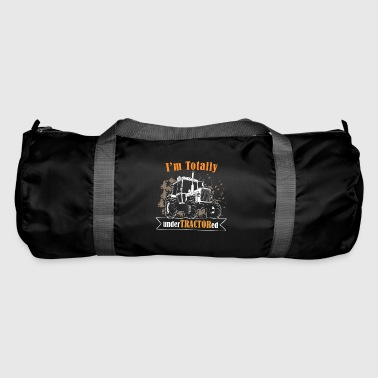 farmer tractor - i am totally undertractored - Duffel Bag