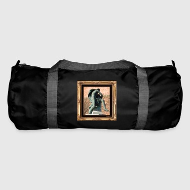 Antique statue in a chic setting - Duffel Bag