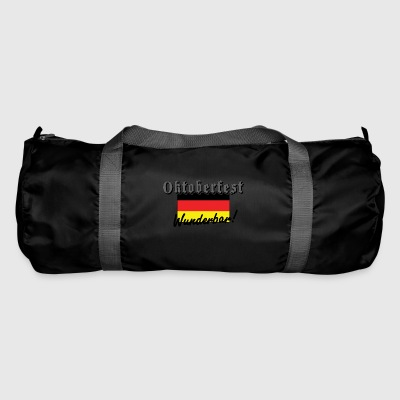 Oktoberfest Wunderbar German Flag - Duffel Bag
