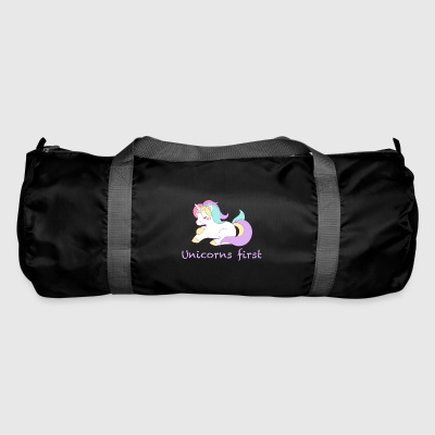 Unicorns first - Duffel Bag