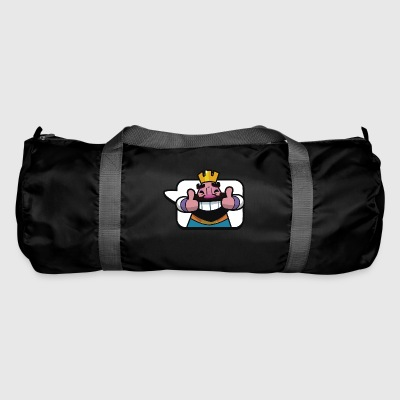 Emoticon King Royale Clash - Duffel Bag