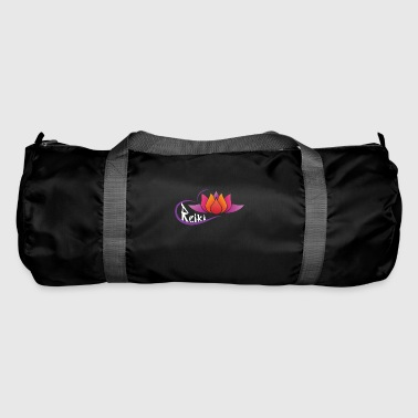 Flower lotus reiki - Duffel Bag