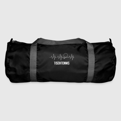 Heartbeat table tennis - Duffel Bag