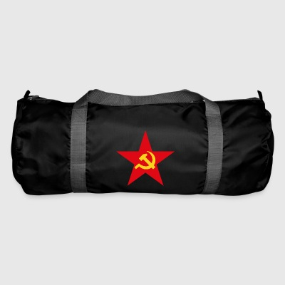 Communist star with hammer and sickle - Duffel Bag