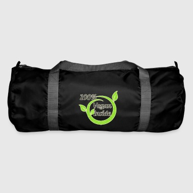 Vegan Inside 100 % Percent - Duffel Bag
