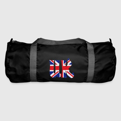 UK flag crystal - Duffel Bag