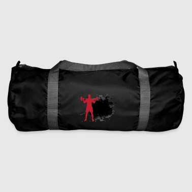 Fitness + own text - Duffel Bag