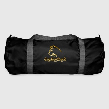Cat Lady Gold - Duffel Bag