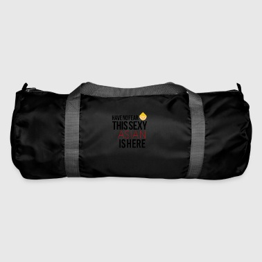 Have no fear this sexy asian is here - Duffel Bag