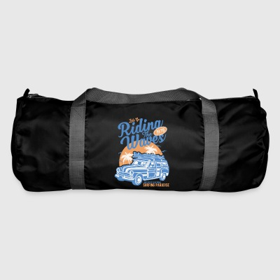 Riding The Waves Vintage Style - Duffel Bag