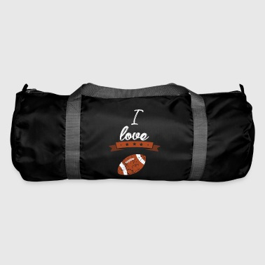 I love American football gift sports - Duffel Bag
