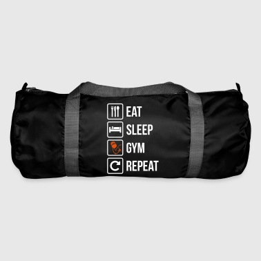 Eat Sleep répétition Gym - Sac de sport