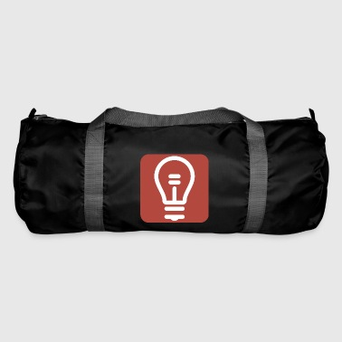 Zurkow Light Bulb Logo - Duffel Bag