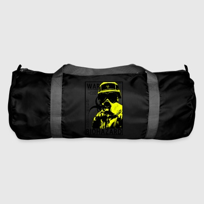 Yellow biohazard Gas BSL4 - Sporttasche