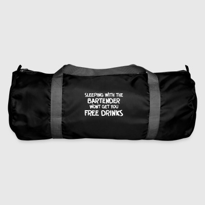 Sleeping with bartender - Duffel Bag