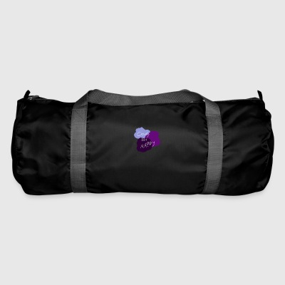 Cloudy but happy - Duffel Bag