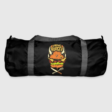viking burger - Duffel Bag