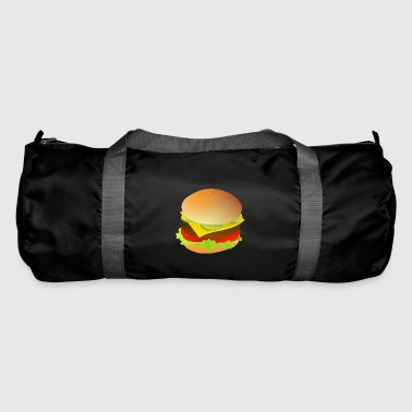 cheeseburger delicious food - Duffel Bag