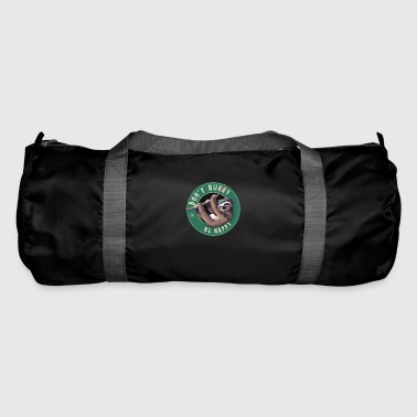 Starbucks Sloth Bouton d'amusement paresseux Humour LOL froid - Sac de sport