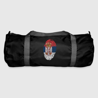 Fingerprint - Serbia - Duffel Bag