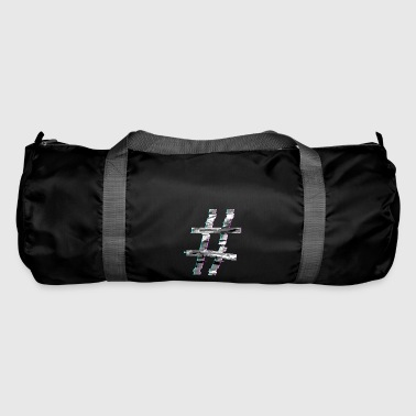 Hashtag glitch - Duffel Bag