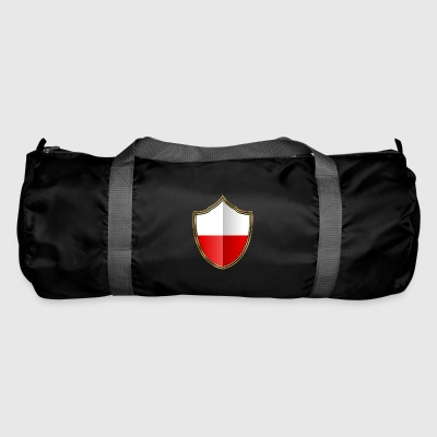 Poland flag coat of arms gold 016 - Duffel Bag