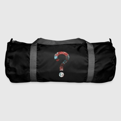 Abstract Question Mark - Duffel Bag