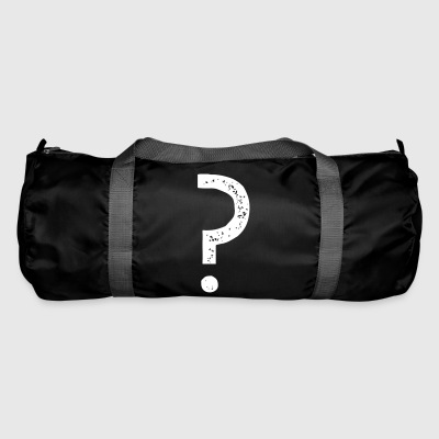 Question mark Vintage - Duffel Bag