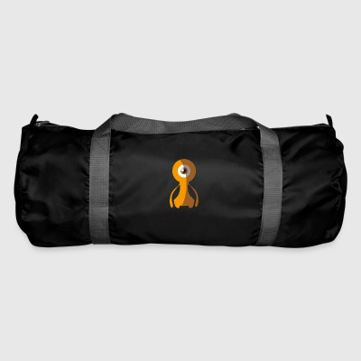 70s Alien Monster - 70s Monster Collection - Duffel Bag
