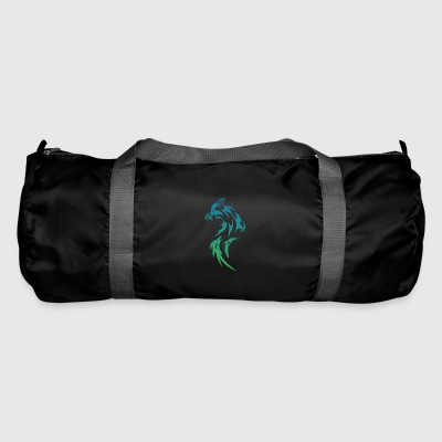 loup tribal - Sac de sport