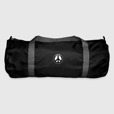Peace button large - Duffel Bag