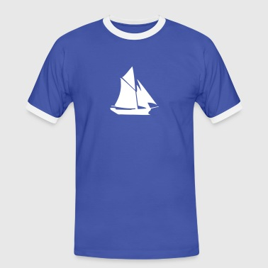 sailing boat - Men's Ringer Shirt