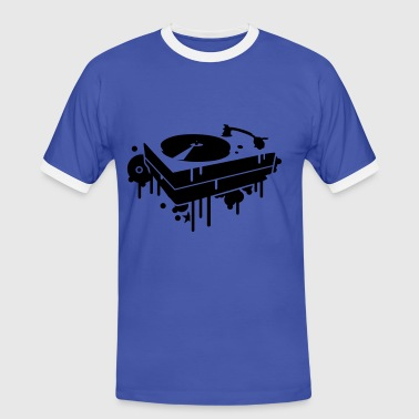 A record player - Men's Ringer Shirt
