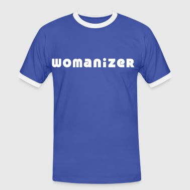 womanizer - Männer Kontrast-T-Shirt