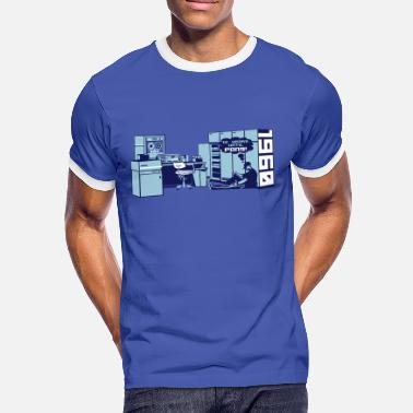 Mainframe pong1960 - Men's Ringer Shirt