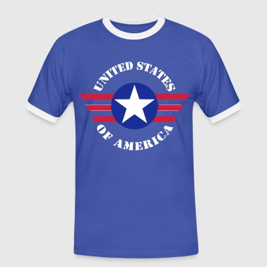 USA Army design - T-shirt contrasté Homme