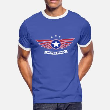 Statement united states - T-shirt contrasté Homme