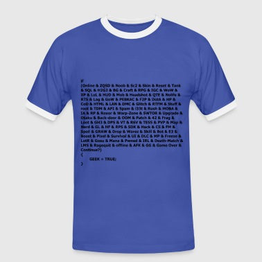 geek conditions - T-shirt contrasté Homme