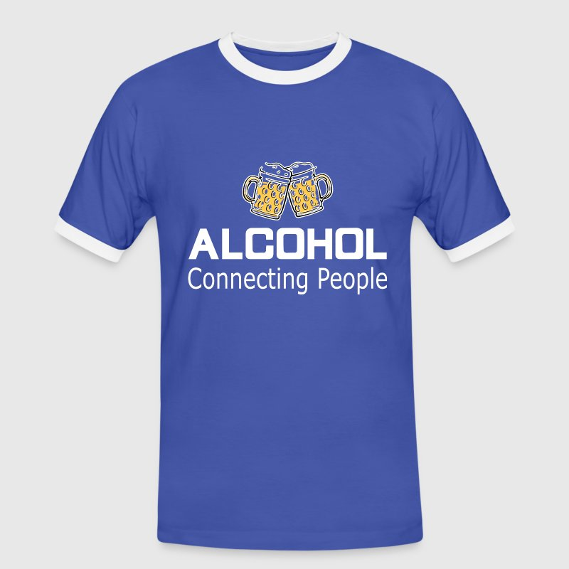Alcohol Connecting People - Men's Ringer Shirt