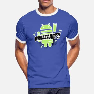 Android Paranoid Android rocks - Herre kontrast-T-shirt