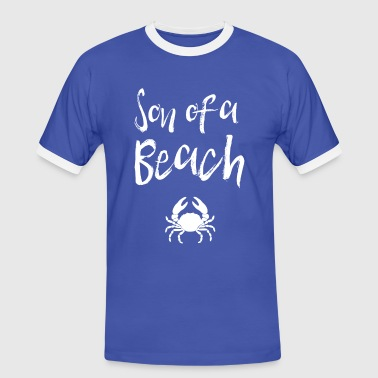 Son of a Beach - Männer Kontrast-T-Shirt