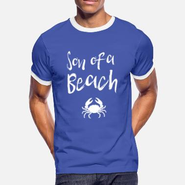 Son Of A Beach Son of a Beach - Männer Kontrast-T-Shirt