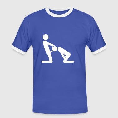 blowjob - T-shirt contrasté Homme