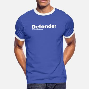 Defender - Football Positions - Men's Ringer Shirt