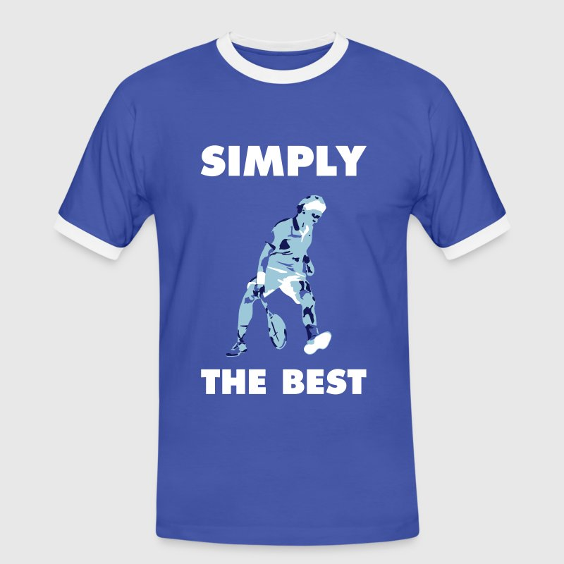 SIMPLY THE BEST - Camiseta contraste hombre