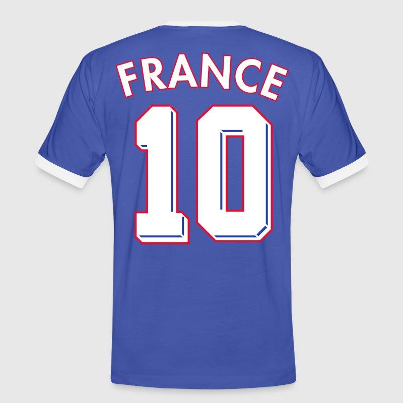 France 10 - T-shirt contrasté Homme