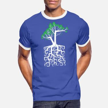 Calcul Square Root - Mannen ringer T-shirt