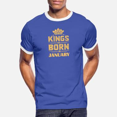 January Gift for January born, born in January - Men's Ringer T-Shirt